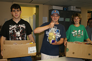 Club Erie Volunteering