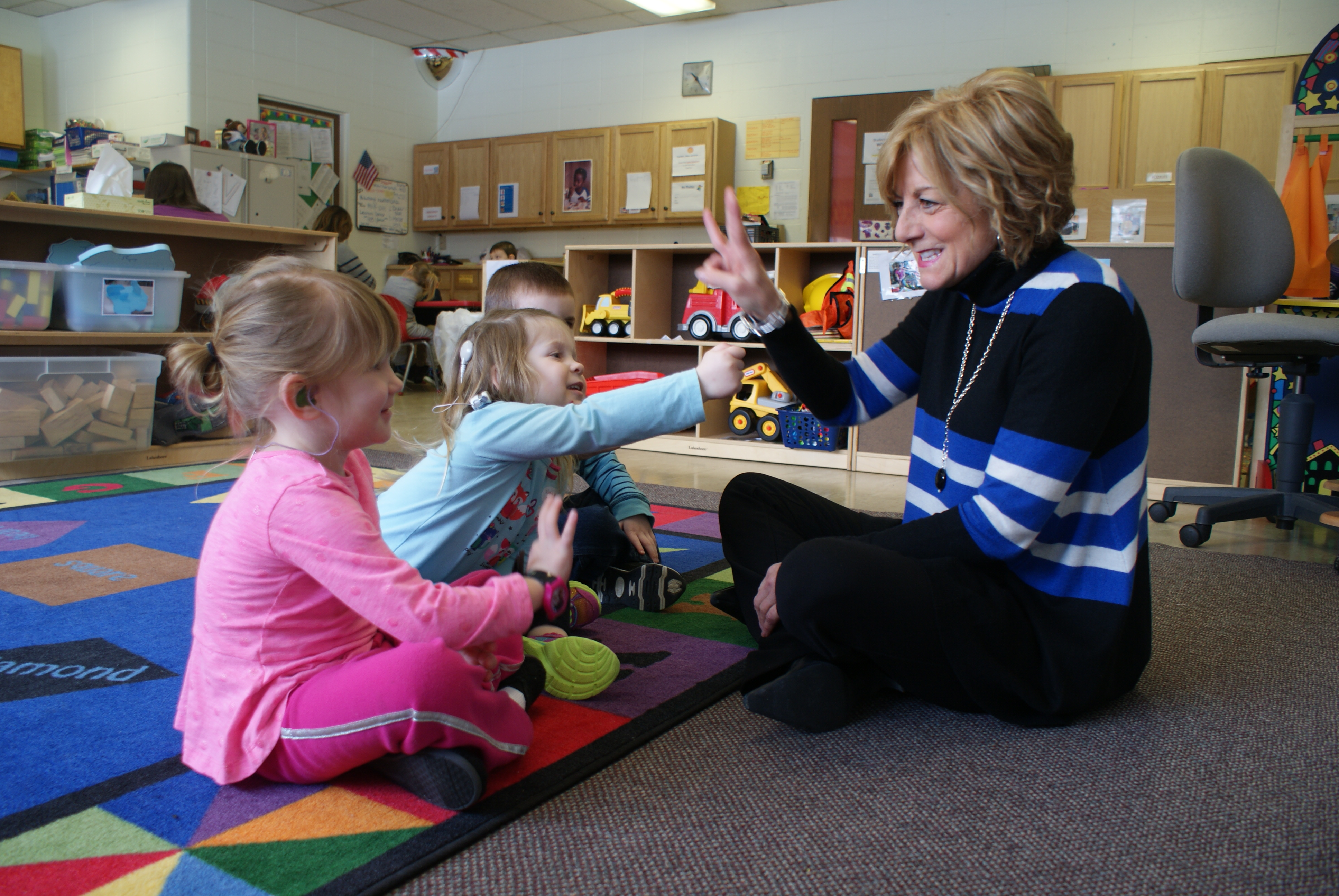 Deaf & hard of hearing preschool