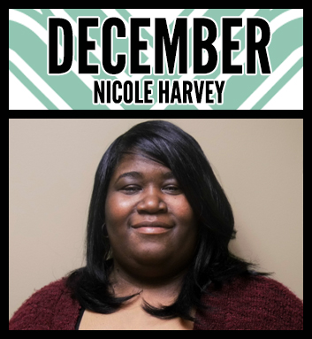 Nicole Harvey Employee of the Month