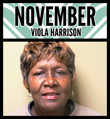 Viola Harrison Employee of the Month