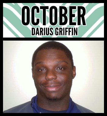 Darius Griffin Employee of the Month