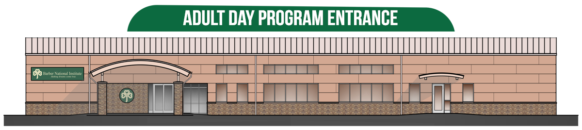 New Adult Day Proram Enterance