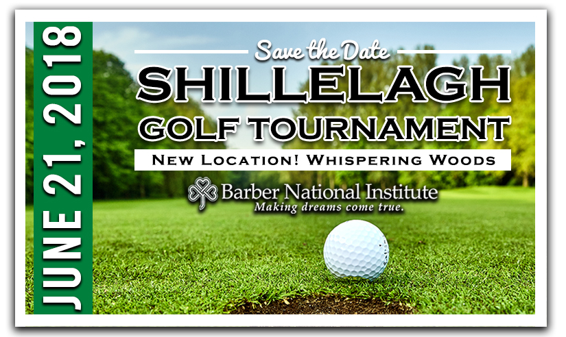 Save the date for the Shillelagh Golf Tournament