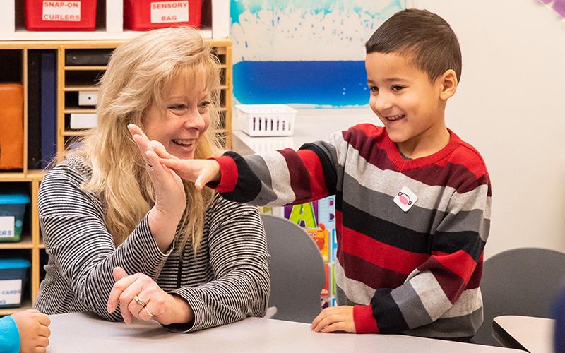 Specialized early intervention preschool program