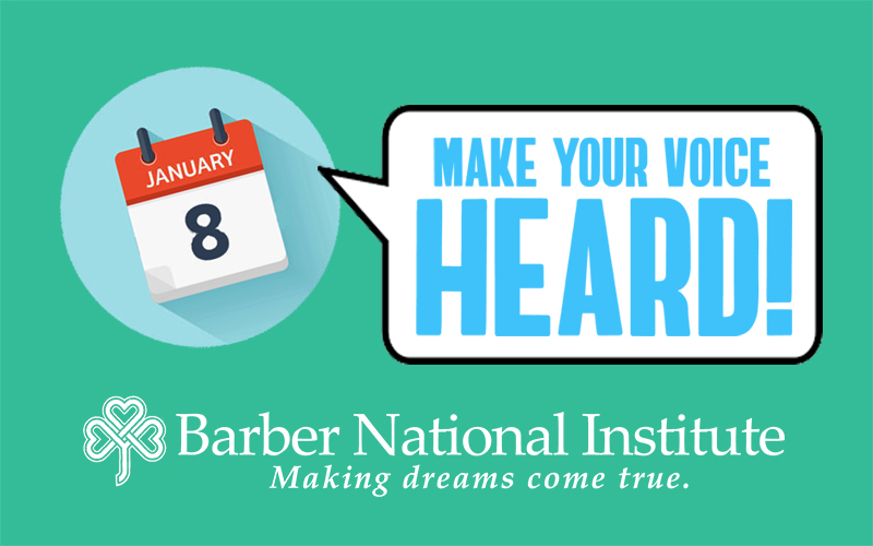 Make Your Voice Heard - Barber National Institute