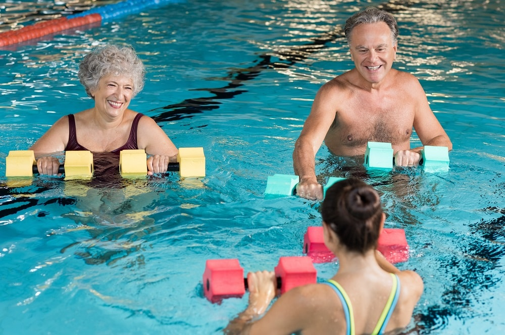 Arthritis Aquatics | Community Pool at The Barber National Institute