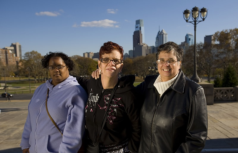 Family Members & Advocates Provide Support in Philadelphia, PA