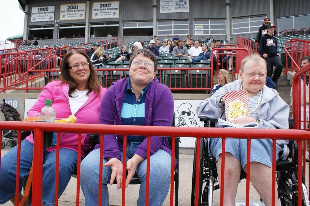 Lifesharing Through Family Living - Baseball Games