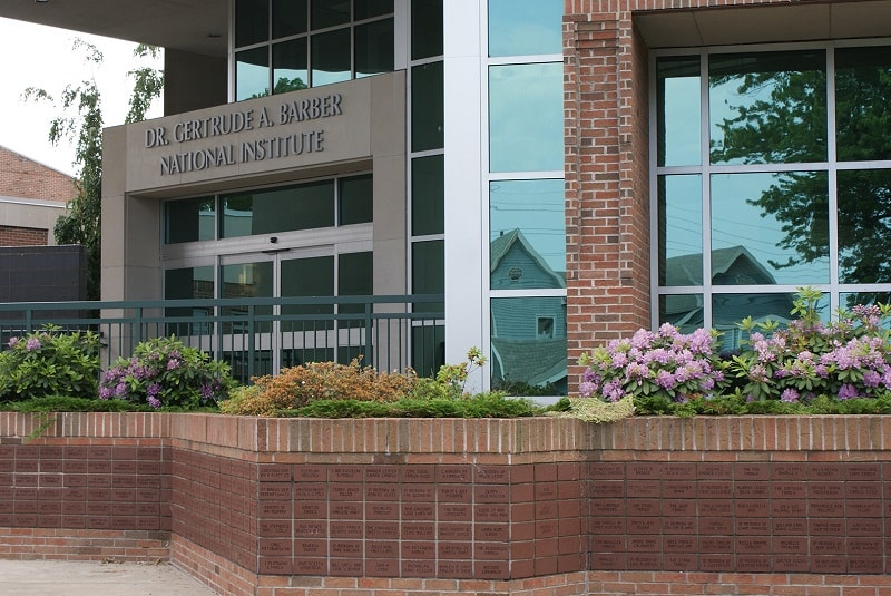 Exterior of the Barber National Institute main campus in Erie, PA