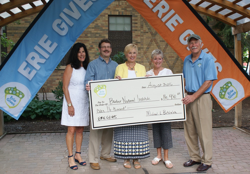 Erie Gives Donation
