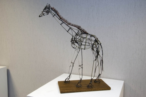"""Wire Giraffe"" by Brian Maloney."