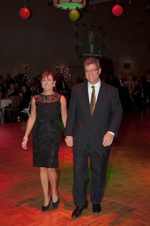 Lynne & Robert Doyle, 2010 Ball Chair Couple