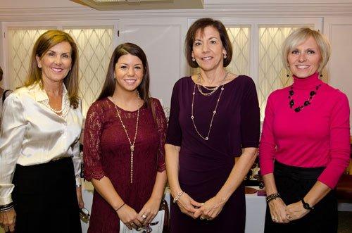 Lynne Doyle, Laura and Julie Sanner, Pam Baker