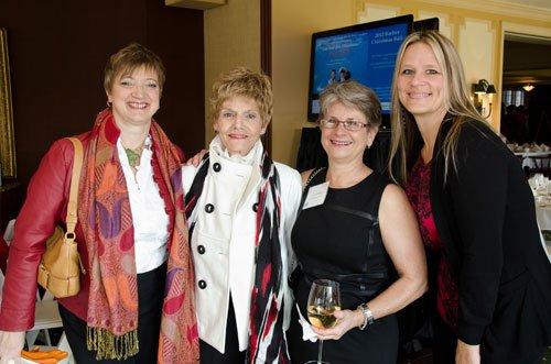 Kathy Burns, Mary Ann Curtze, Cynde Goldberg and Gina Klofft