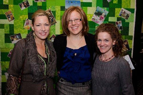 Kim Mascia, Andrea Richmond and Becky Siegler