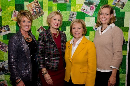 Valerie Weaver, Bridget Barber, Mary Beth Wachter and Erin Wachter