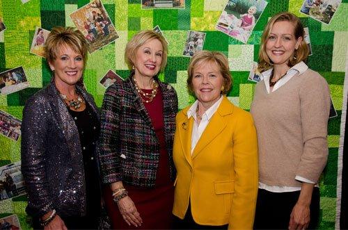 Valerie Weaver, Bridget Barber, Mary Beth Wachter and Erin Wachter