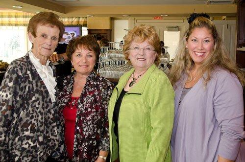 Patti Fiorelli, Cherri Melani, Kathy Goodelle and Stefanie Trudnowski
