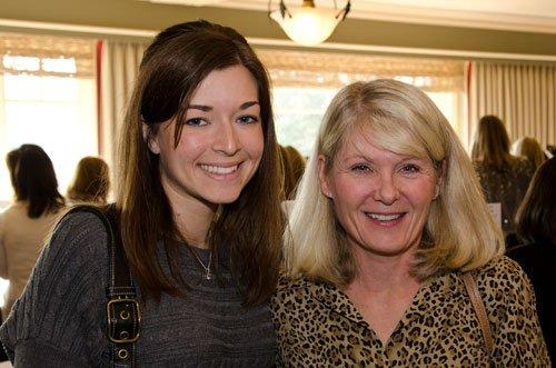 Susan Elliott, right, with her daughter-in-law, Courtney Elliott