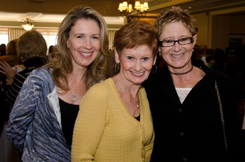 Michelle Harkins with her mother, Barb Skala and sister, Brenda Comstock