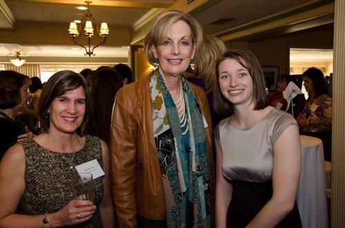 Julie McCain, Maureen Barber-Carey and Caitlin Henning