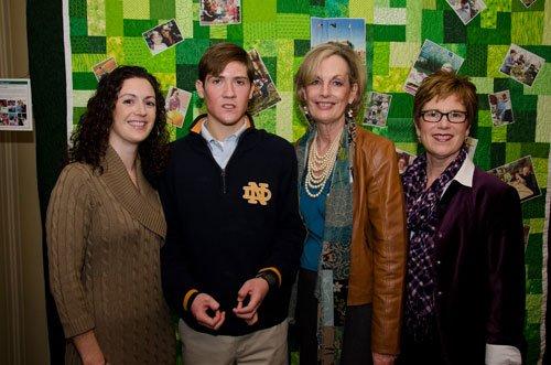 Dr. Nicole Fowler, Ryan Carey, Maureen Barber-Carey and Mary Beth Pinto