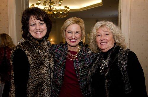 Jayne Huston, Bridget Barber and Linda Stevenson