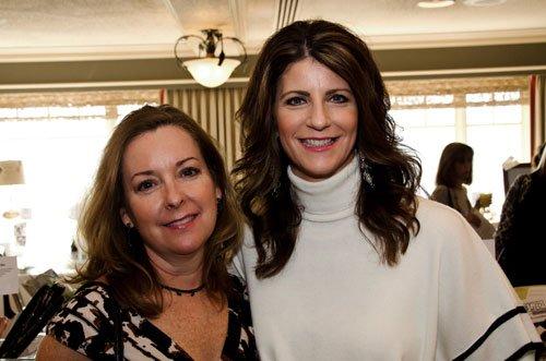 Teresa Agnello and Pam Hampy