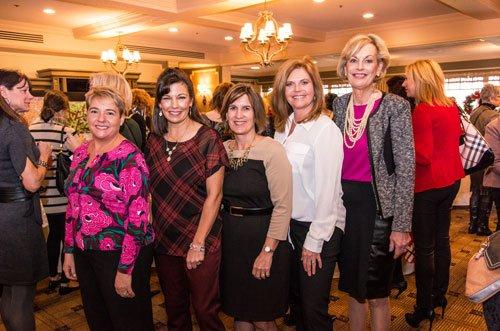 LOL Committee members: Annie Rutkowski, Carolyn Sabolcik, Julie McCain, Lisa Salvia and Maureen Barber-Carey