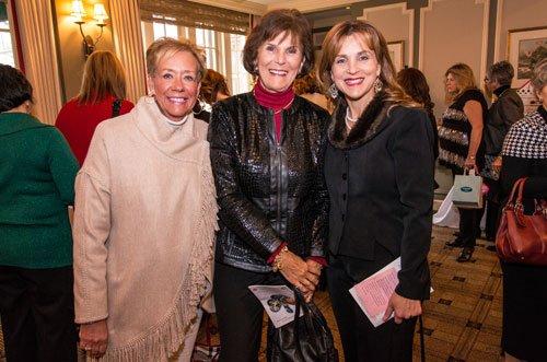 Susan Rogala, Mary Lou Rathers and Stephanie Hall-Cabelof
