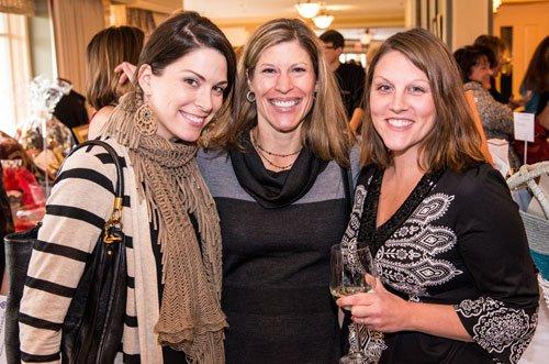 Beth Becker, Molly Konzel and Sara Musone