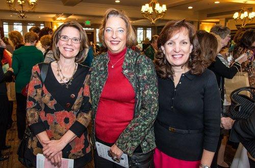 Barb Cmiel, Lisa Whaling and Jayne Corey
