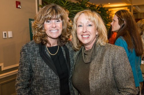 Colleen Kerr and Lisa Watkins