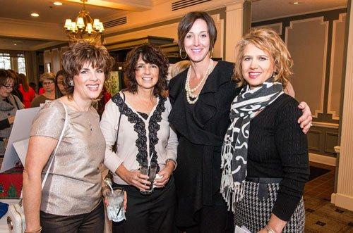 Linda Breakiron, Lisa Baronner, Amy Parini and Sabrina Fisher