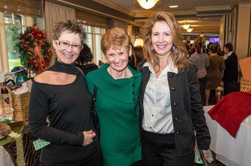 Brenda Comstock, Barb Skala and Michele Harkins