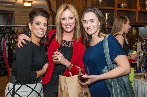 Stephanie Maleno, Rebecca Hower and Elizabeth Tessner