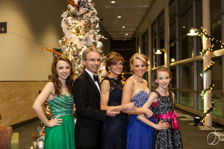 The Hunter Family: Jordan, Tim, Gretchen, Brittany and LaceyJo