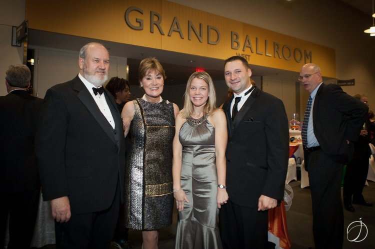 George & Susan Currie, Robin & Steve LaSalvia
