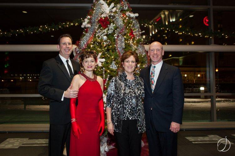 Dr. Joseph & Lori Barber; Mary Beth & Jeff Pinto