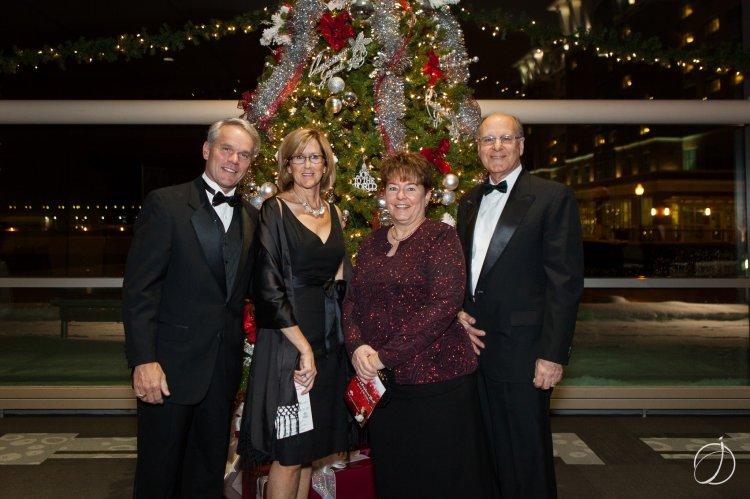 Eric & Kerry Ducharme; Maria & Bob Parisi