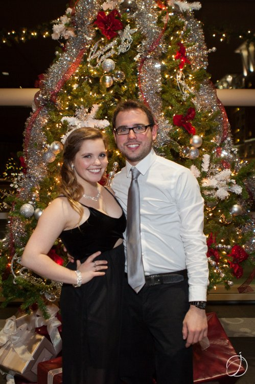 Chelsea Myers and Max Lindenberger