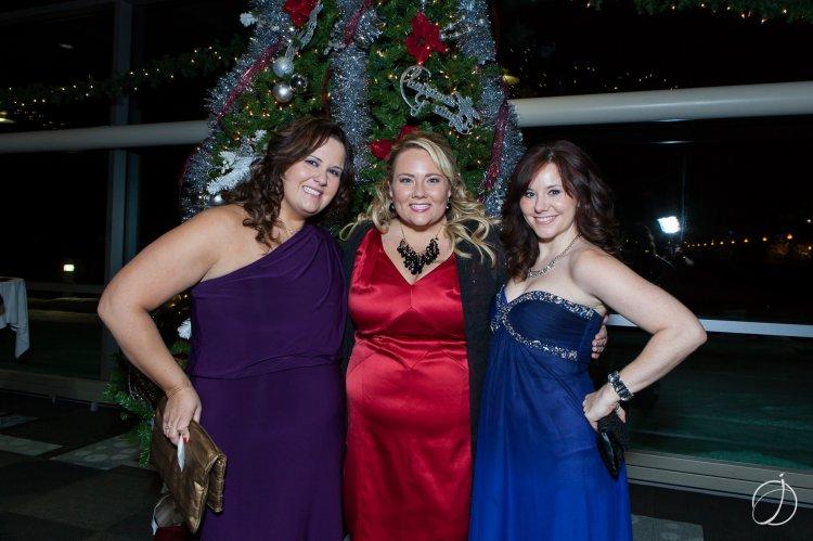 Emily Merski, Lesley Ridge and Erica Howland