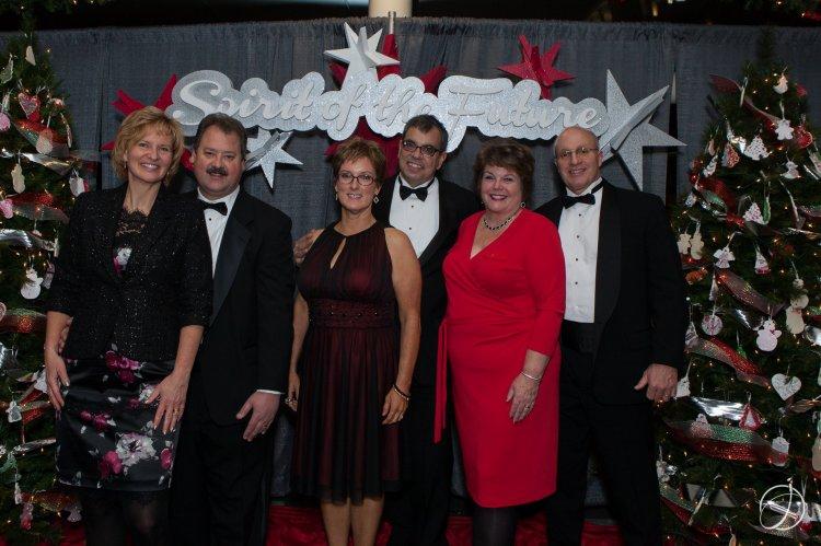 Terri & David Strasser, Mary & Sean Candela, Jeanine & Rick Tome