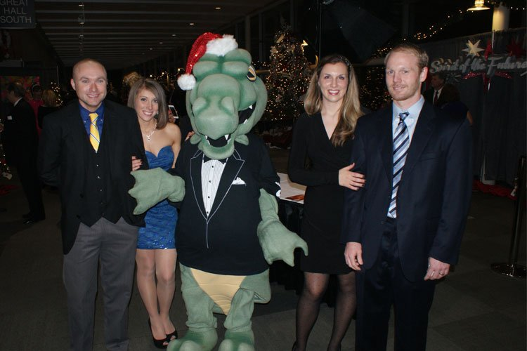 Ryan Flynn and Ali Phillips join  Lacie and Paul Haupt in partying with the Beast