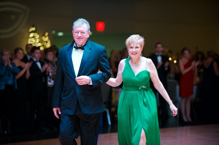John Barber, president and chief executive officer, and his wife, Bridget.