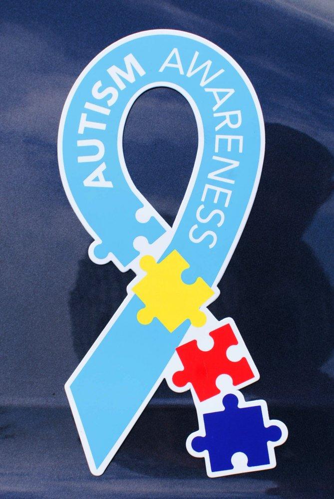 Autism Awareness Car Magnet