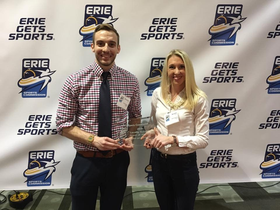 Barber Beast honored by Erie Sports Commission
