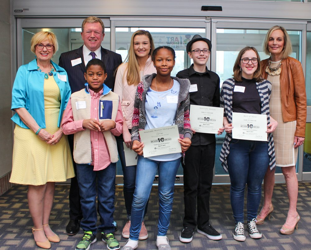 2017 Art Show Photo Gallery - Youth Reception