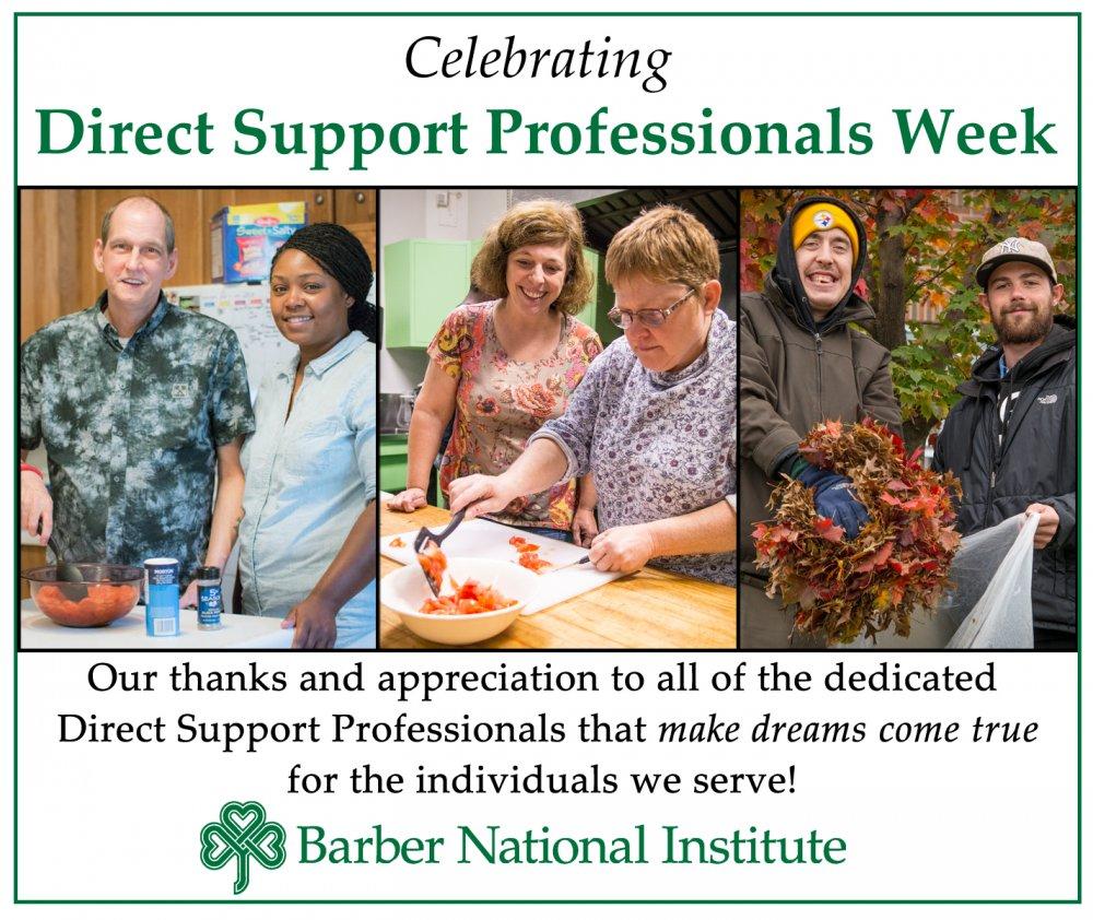 Barber Institute Celebrates DSP Week