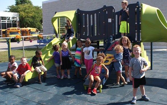 New Playground Unveiled for Younger Students